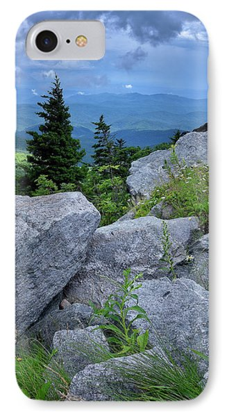 View From Grandfather Mtn Nc IPhone Case by Steve Hurt