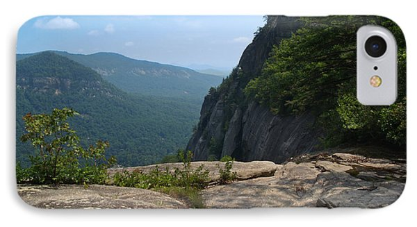 View From Hickory Nut Gorge Nc Phone Case by Anna Lisa Yoder