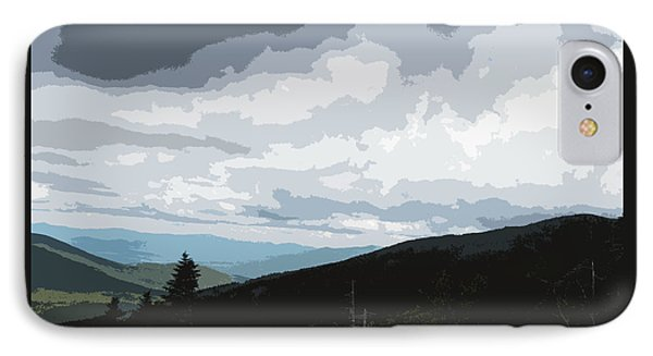 IPhone Case featuring the photograph View From Mount Washington II by Suzanne Gaff
