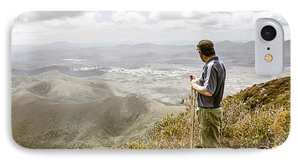 View From Mt Zeehan Tasmania IPhone Case by Jorgo Photography - Wall Art Gallery
