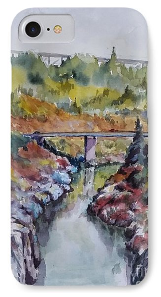 View From No Hands Bridge IPhone Case by William Reed