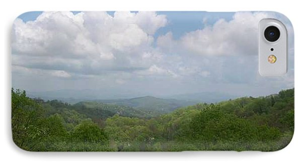 View From Ober Gatlinburg Phone Case by Barb Montanye Meseroll