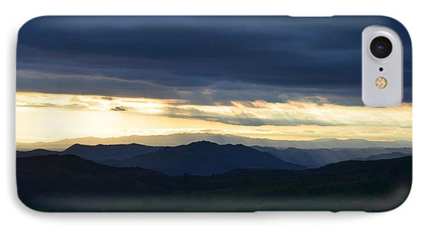 View From Palomar 9633 IPhone Case by Sharon Soberon