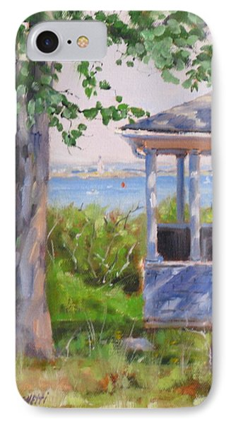 View From Pointe Allerton IPhone Case by Laura Lee Zanghetti