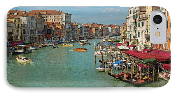 IPhone Case featuring the photograph View From Rialto Bridge by Sharon Jones
