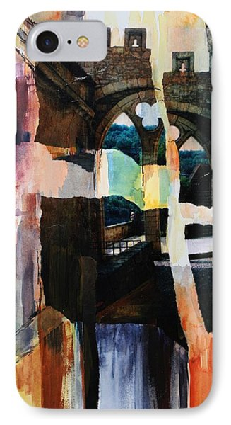 View From Rocamadour IPhone Case by Tara Moorman