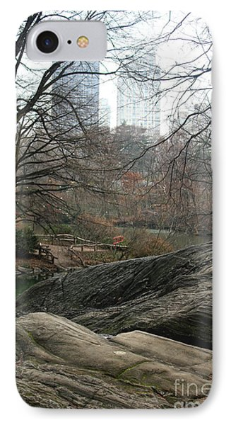 View From Rocks IPhone Case by Sandy Moulder