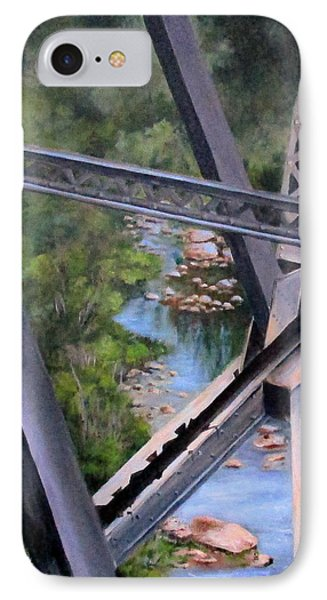 View From The Bridge--sedona, Az IPhone Case by Mary McCullah