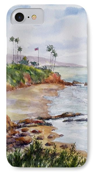 View From The Cliff IPhone Case by William Reed