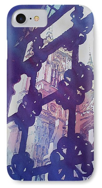 View From The Cloister IPhone 7 Case by Jenny Armitage