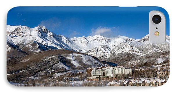 IPhone Case featuring the photograph View From The Mountain Above Telluride by Carol M Highsmith