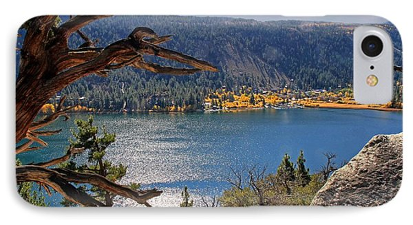 IPhone Case featuring the photograph View From The Top Of June Lake by Donna Kennedy
