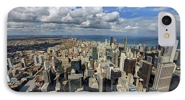View From The Willis Tower Chicago IPhone Case