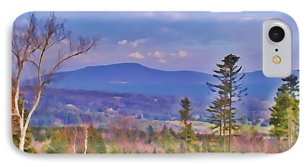 View From Von Trapps Lodge 1 Phone Case by Bill Cannon