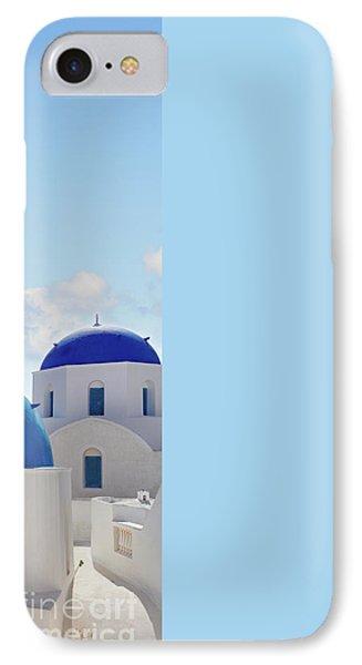 Caldera  Of Santorini IPhone Case by Anastasy Yarmolovich