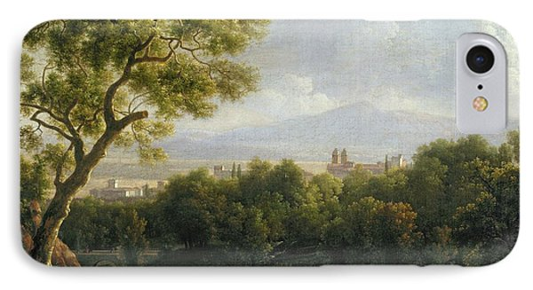 View Of Frascati IPhone Case