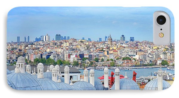 IPhone Case featuring the photograph View Of Istanbul by Fabrizio Troiani