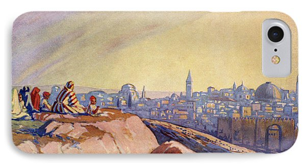 View Of Jerusalem, Palestine Seen From IPhone Case