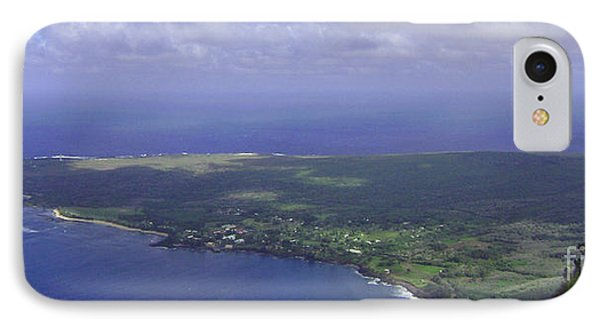 View Of Kaulapapa IPhone Case