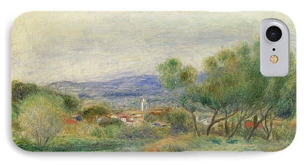 View Of La Seyne Phone Case by Pierre Auguste Renoir