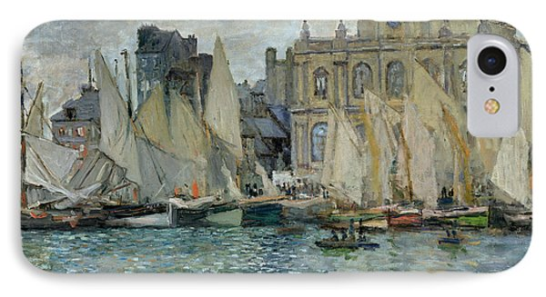 View Of Le Havre Phone Case by Claude Monet
