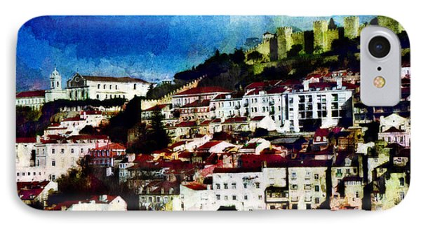 IPhone Case featuring the photograph View Of Lisbon by Dariusz Gudowicz
