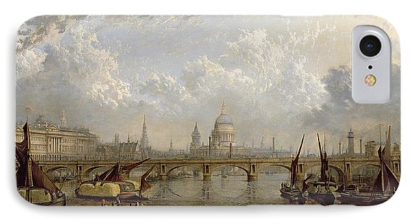 View Of London  IPhone Case by John MacVicar Anderson