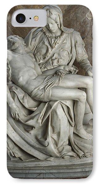 View Of Michelangelos Famous Sculpture Phone Case by James L. Stanfield