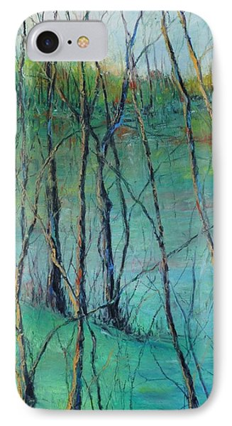 View Of Nature's Canvas IPhone Case by Robin Miller-Bookhout