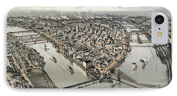 View Of Pittsburgh, 1902 Phone Case by Granger