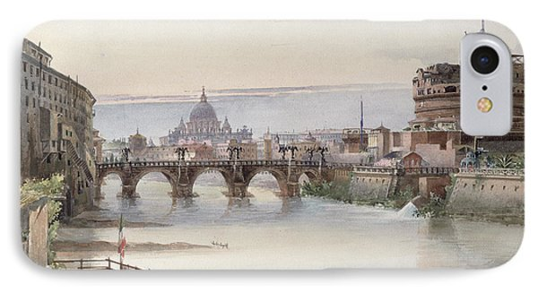 View Of Rome Phone Case by I Martin