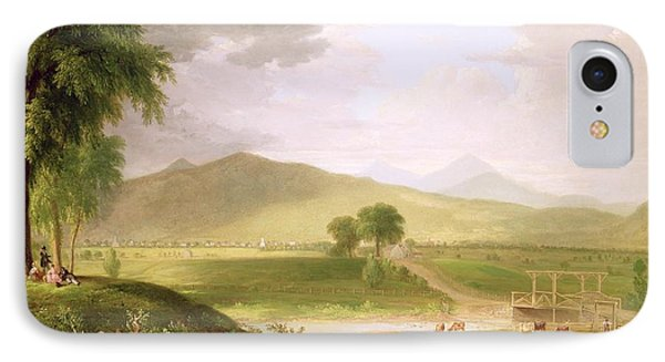 View Of Rutland - Vermont IPhone Case by Asher Brown Durand