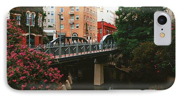View Of San Antonio River Walk, San Antonio, Texas, Usa IPhone Case