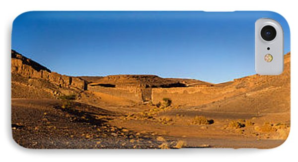 View Of Sand Dunes, Sahara Desert IPhone Case