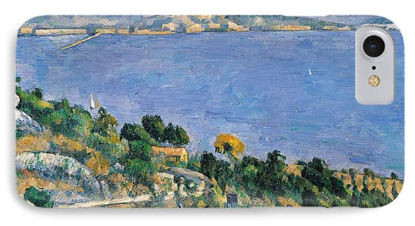 View Of The Bay Of Marseilles IPhone Case