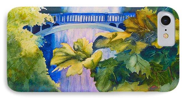 View Of The Bridge Phone Case by Karen Stark