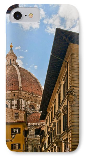View Of The Duomo IPhone Case