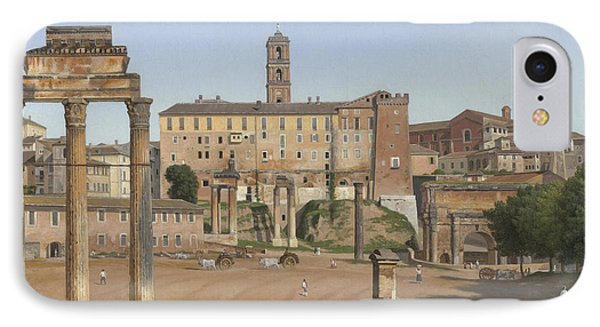 View Of The Forum In Rome IPhone Case