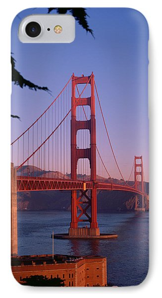 View Of The Golden Gate Bridge IPhone Case by American School