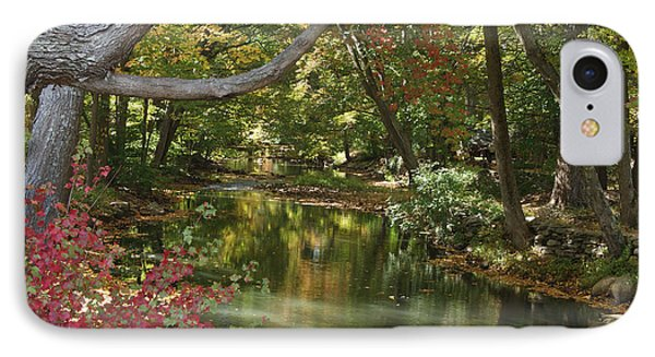 View Of The Mill River IPhone Case