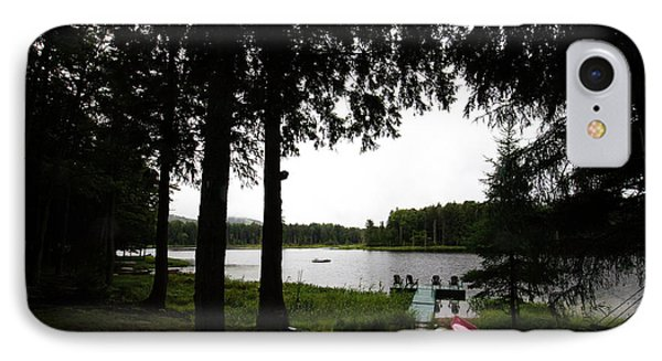 IPhone Case featuring the photograph View Of The Pond by David Patterson