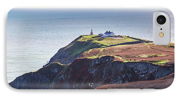 IPhone Case featuring the photograph View Of The Trails On Howth Cliffs And Howth Head In Ireland by Semmick Photo