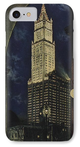 View Of The Woolworth Building IPhone Case