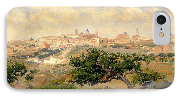 View Of Toledo IPhone Case by Mountain Dreams