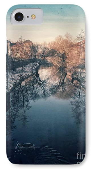 View Onto The River  IPhone Case