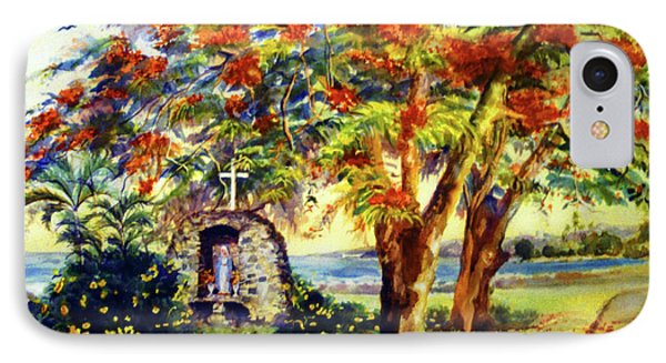 View To Aguadilla Bay Phone Case by Estela Robles