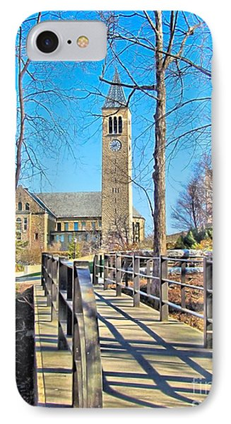View To Mcgraw Tower IPhone Case