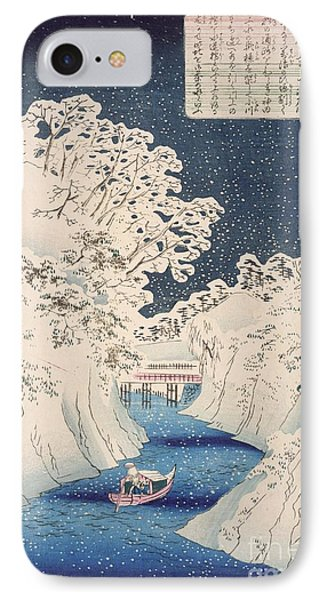 Views Of Edo IPhone Case by Hiroshige