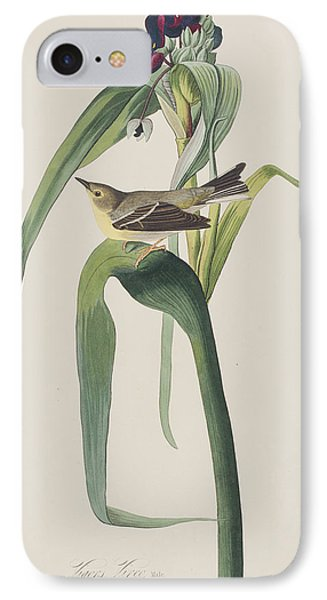 Vigor's Warbler IPhone 7 Case by John James Audubon