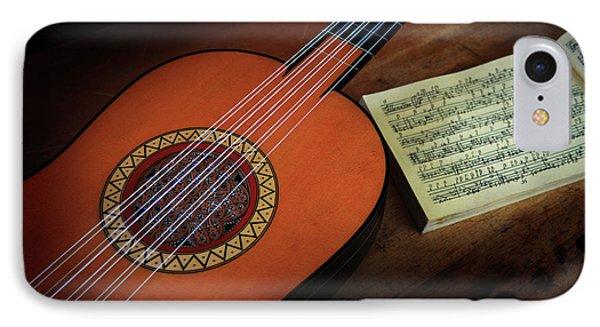 Vihuela Da Mano IPhone Case by Valentin Gladyshev